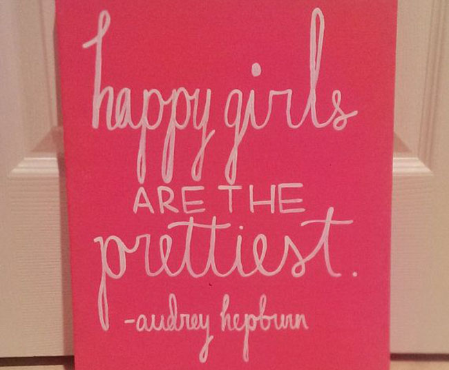Happiness is… inspirational quotes!