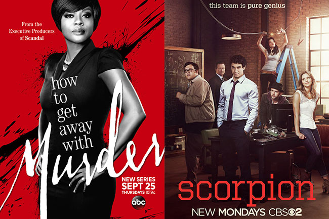 Nieuwe series: How to Get Away with Murder & Scorpion