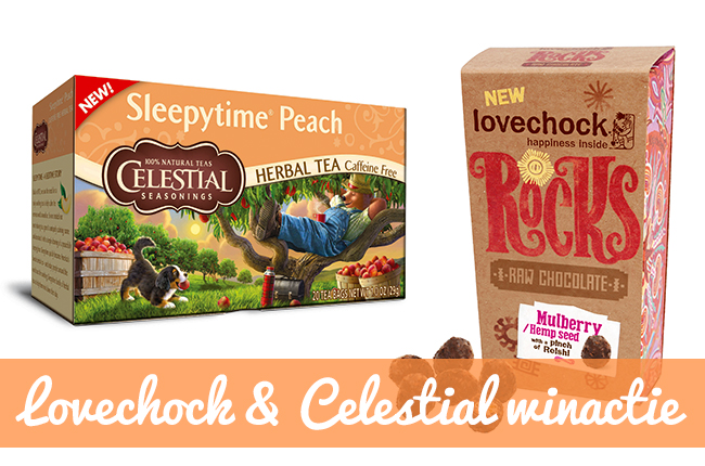 Miss Craftsy's Giveaway #5 Lovechock chocolade & Celestial thee