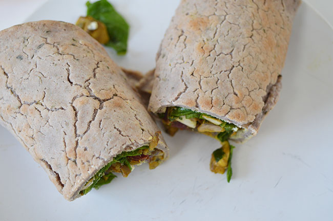 vegetarische wrap