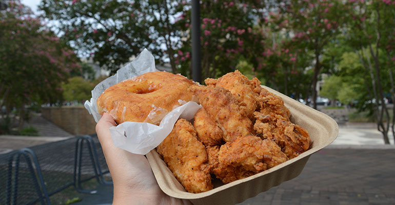 doughnut-and-fried-chicken