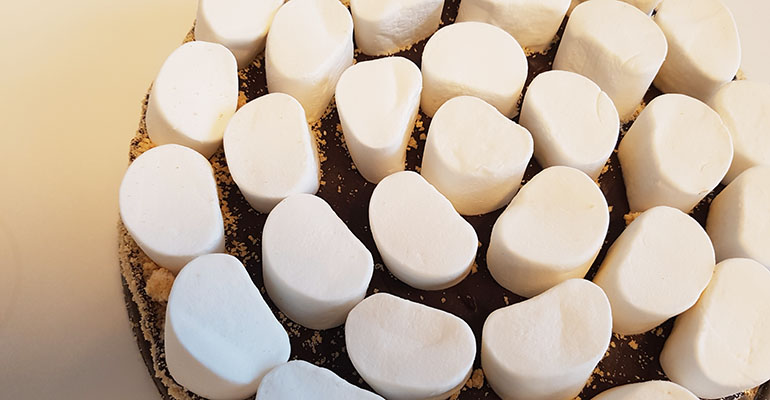 smores taart