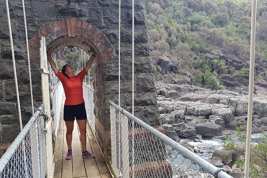 10 daagse reisroute tasmanie launceston gorge