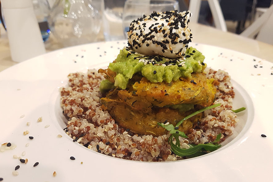 australia now and then quinoa fritters