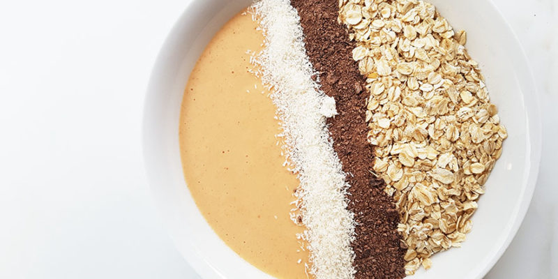 carrot cake smoothiebowl 2