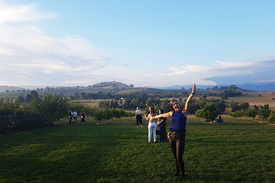 Australia Adventures: Footy Game, Yarra Valley & NGV