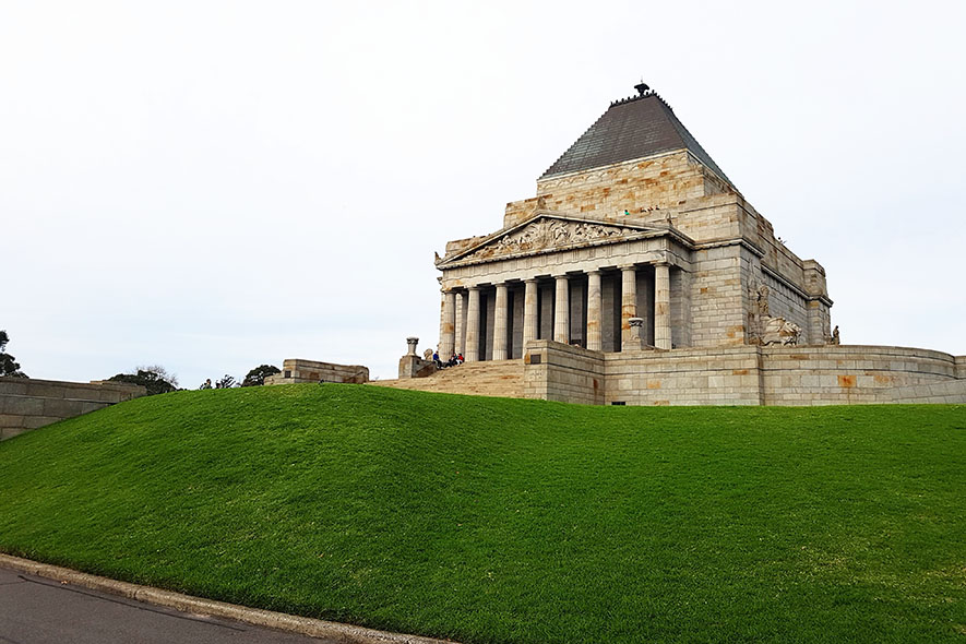 melbourne shrine of remembrance