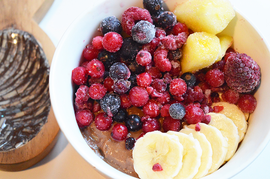 chocolade smoothiebowl 3