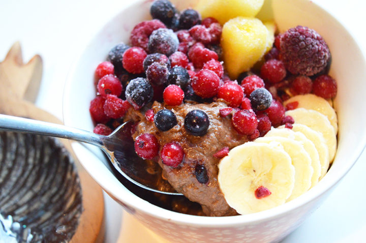 chocolade smoothiebowl