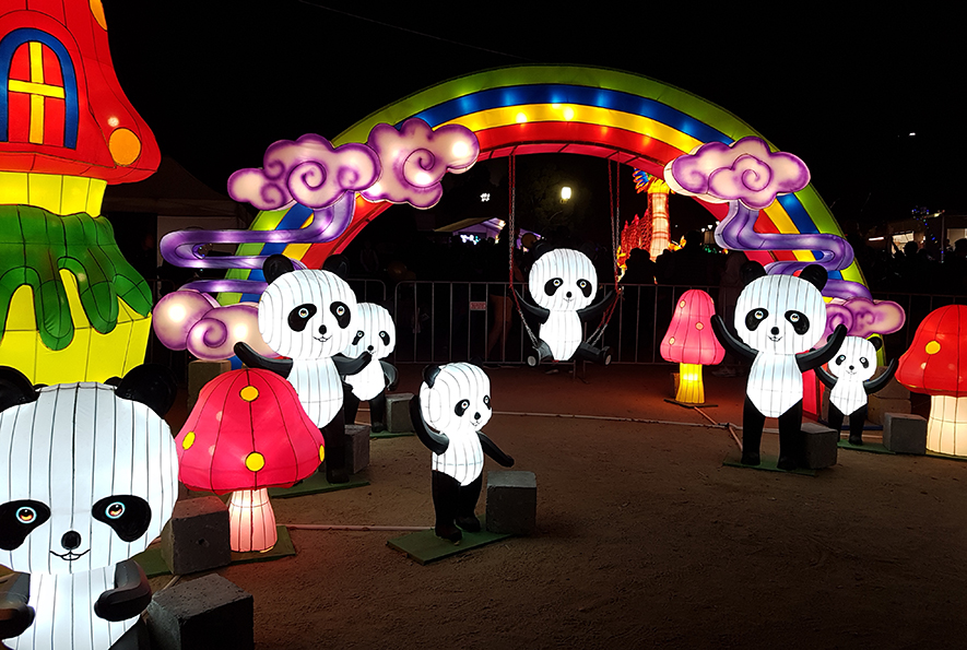 LTW Light Festival Melbourne