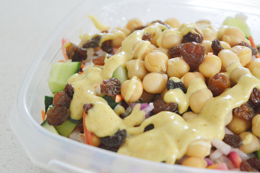 chickpea curry salad 2