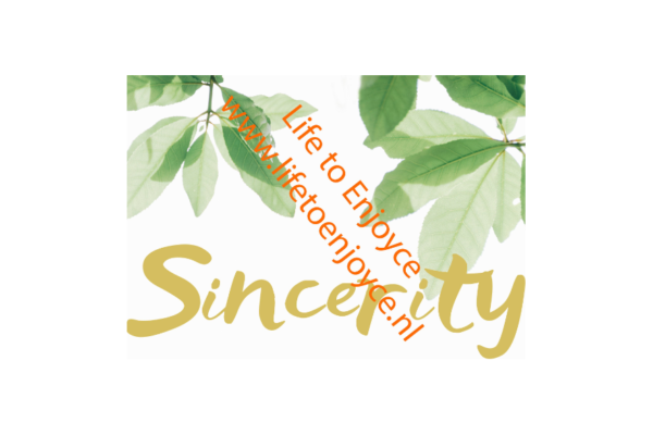 Quote Sincerity