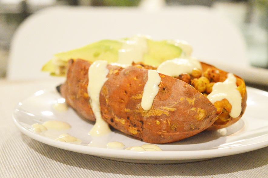 smoky stuffed sweet potato 2