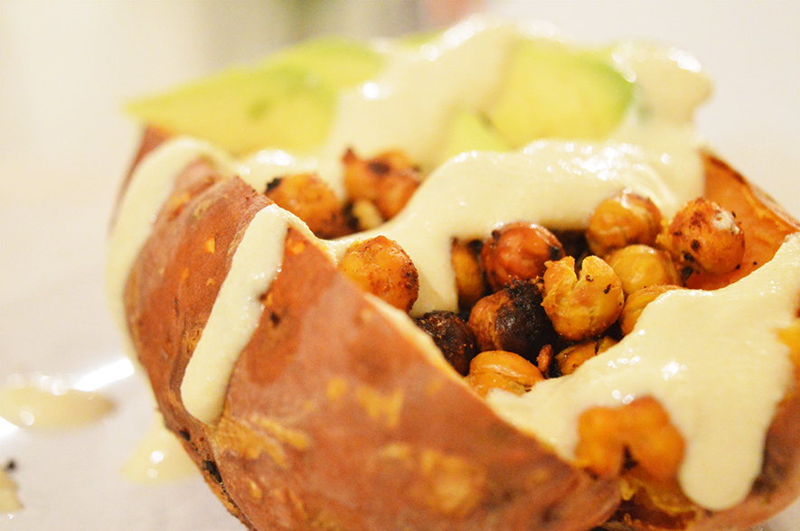 smoky stuffed sweet potato 3